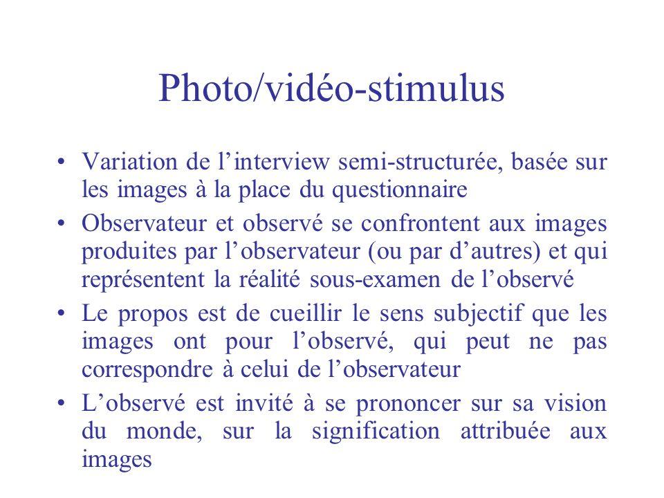 Photo/vidéo-stimulus