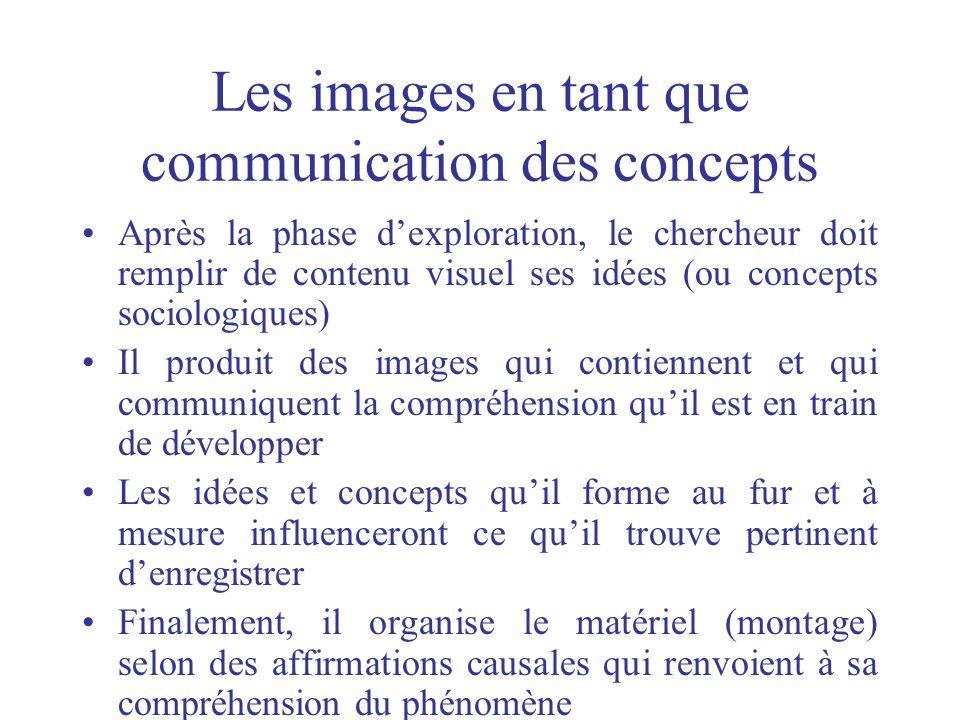 Les images en tant que communication des concepts