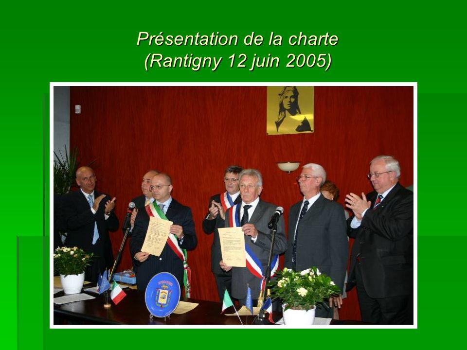 Présentation de la charte (Rantigny 12 juin 2005)
