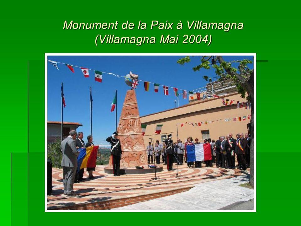 Monument de la Paix à Villamagna (Villamagna Mai 2004)