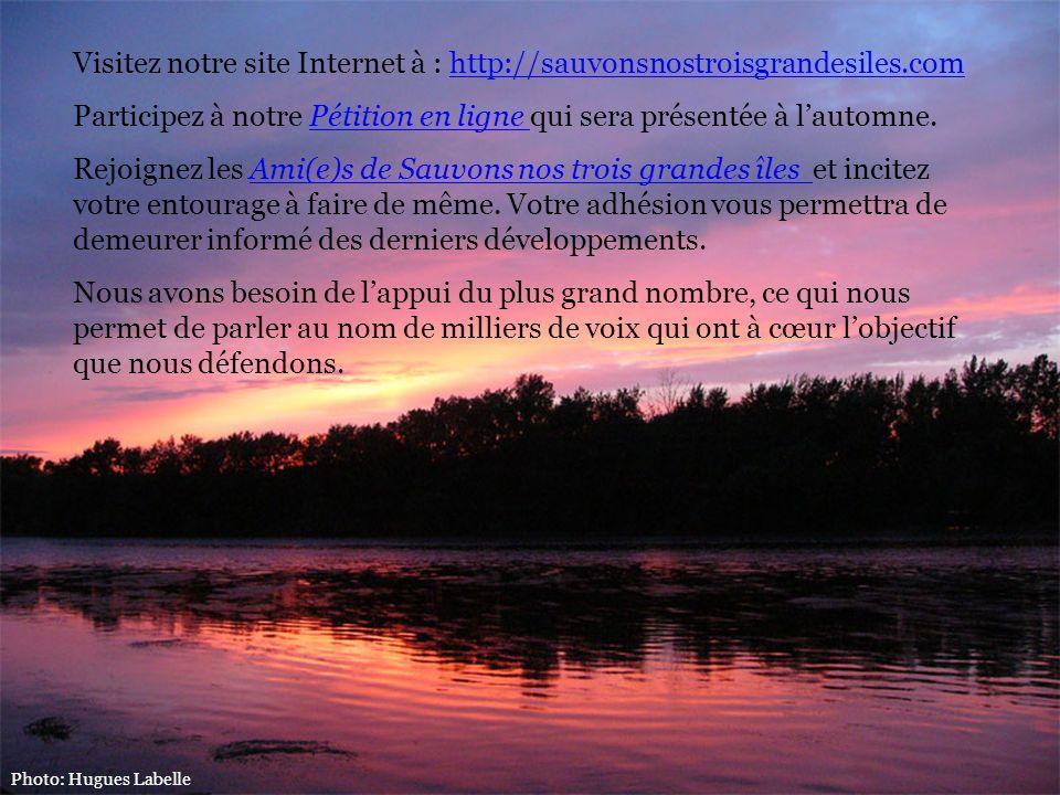 Visitez notre site Internet à : http://sauvonsnostroisgrandesiles.com