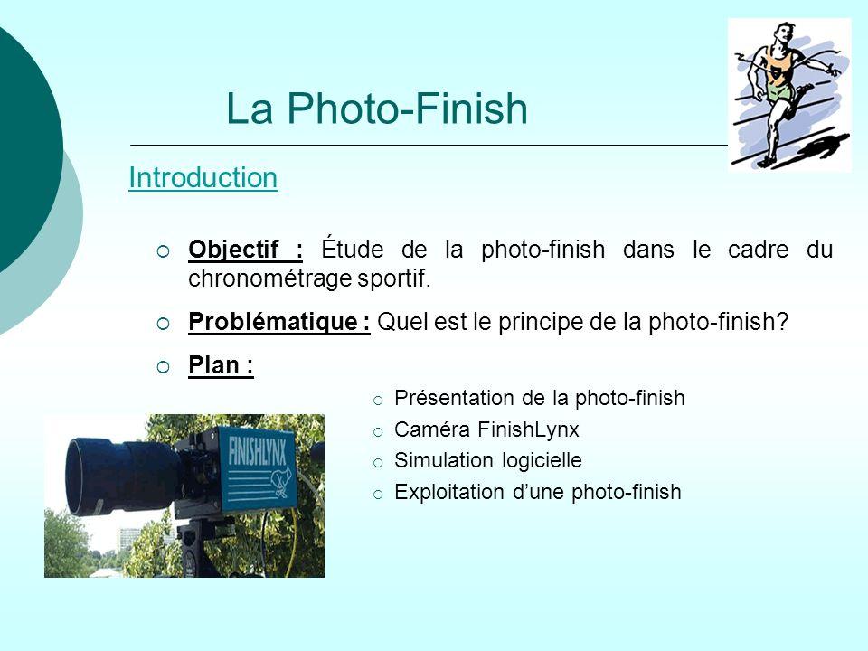La Photo-Finish Introduction