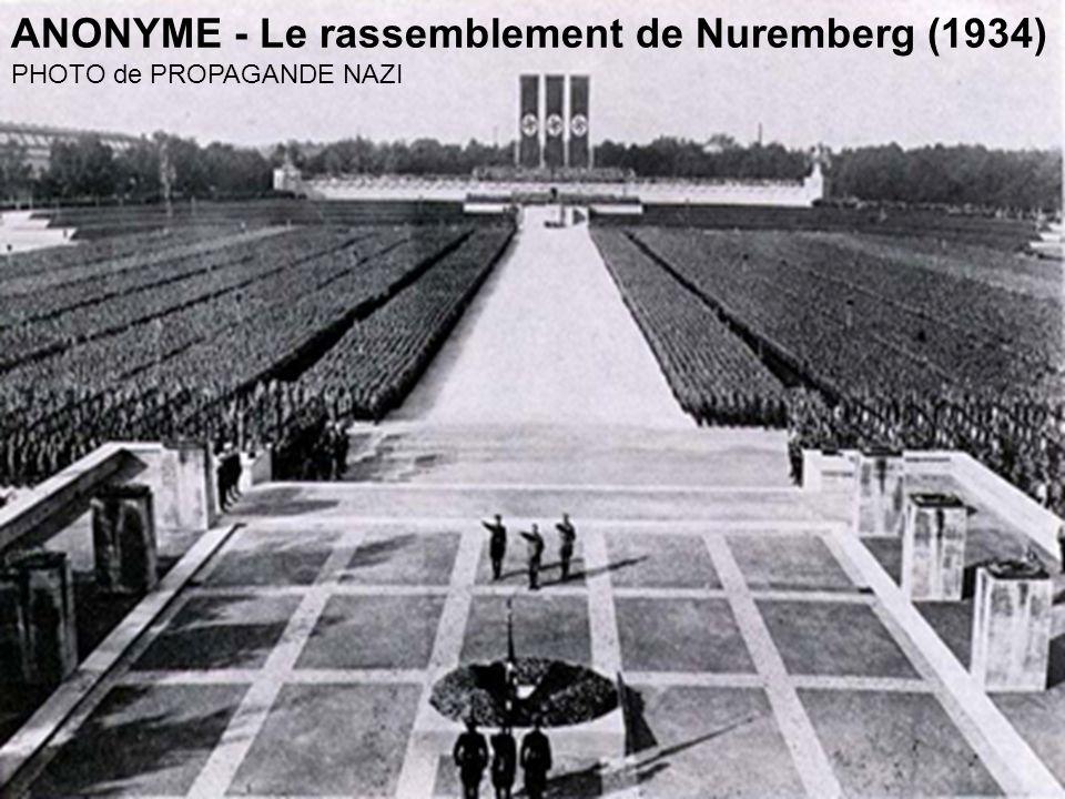 ANONYME - Le rassemblement de Nuremberg (1934)