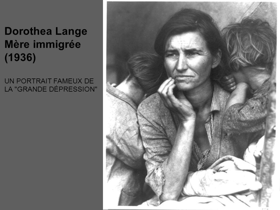 Dorothea Lange Mère immigrée (1936)