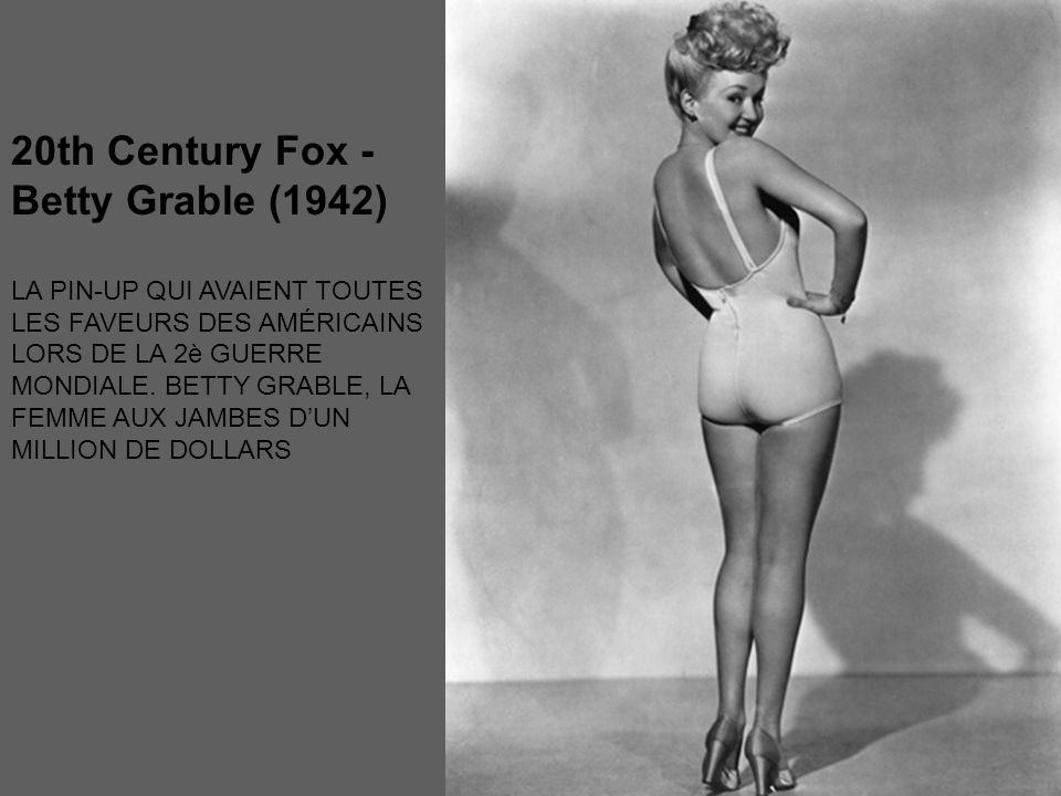 20th Century Fox - Betty Grable (1942)