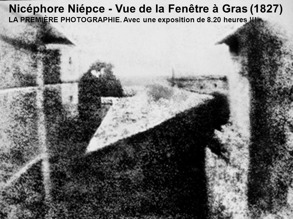 Nicéphore Niépce - Vue de la Fenêtre à Gras (1827)