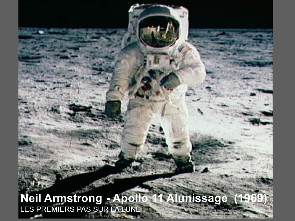 Neil Armstrong - Apollo 11 Alunissage (1969)