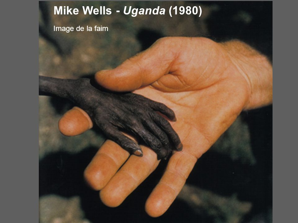 Mike Wells - Uganda (1980) Image de la faim