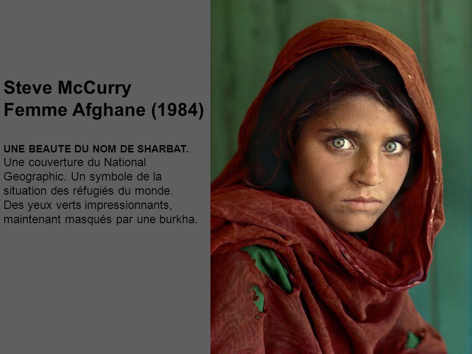 Steve McCurry Femme Afghane (1984)