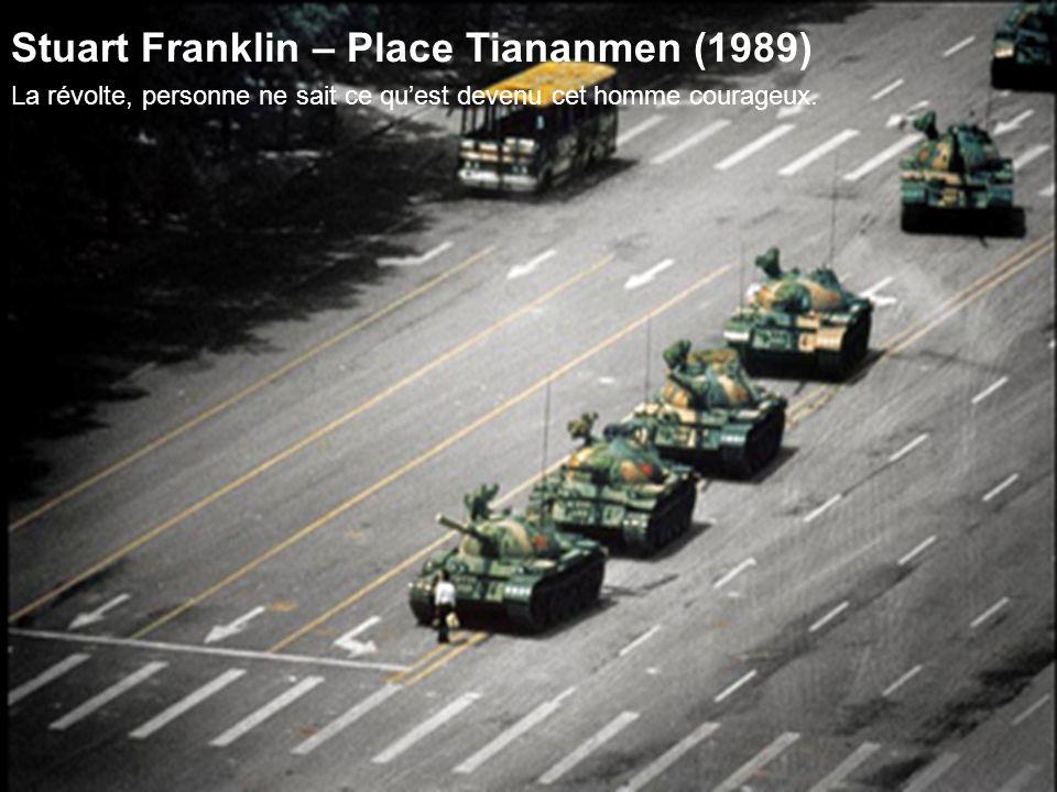Stuart Franklin – Place Tiananmen (1989)
