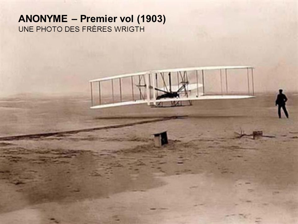 ANONYME – Premier vol (1903)