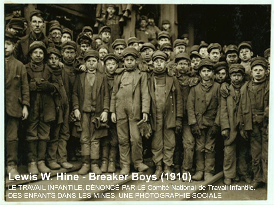 Lewis W. Hine - Breaker Boys (1910)