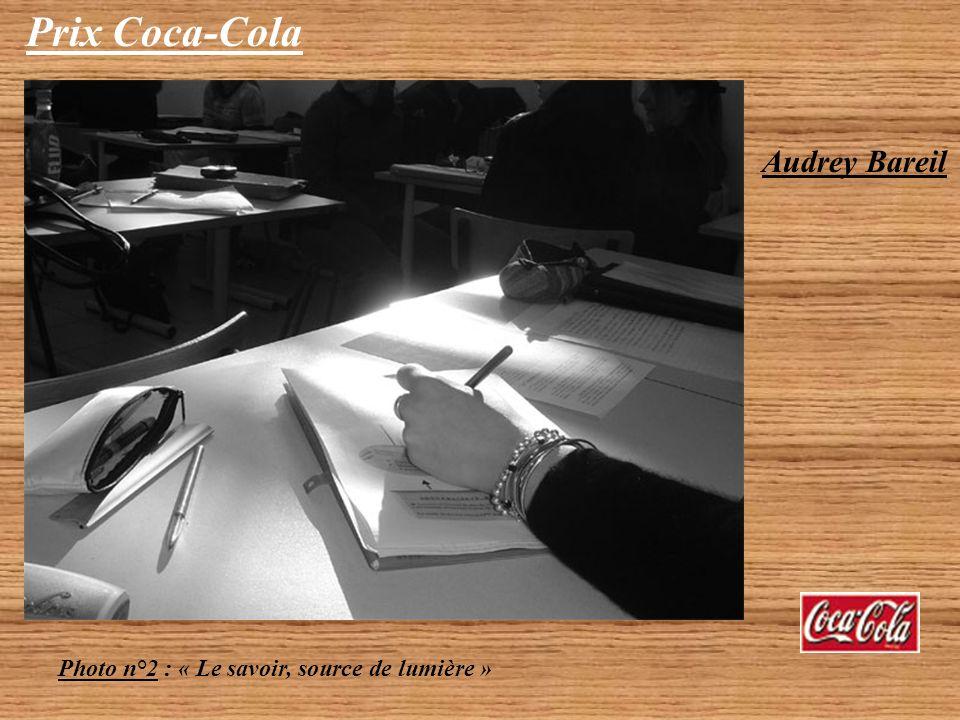 Prix Coca-Cola Audrey Bareil