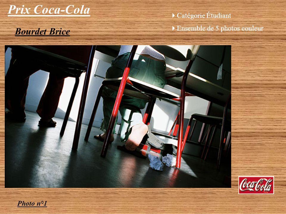 Prix Coca-Cola Bourdet Brice Catégorie Étudiant