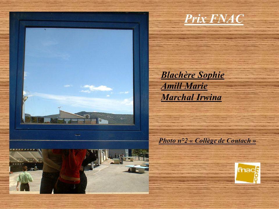Prix FNAC Blachère Sophie Amill Marie Marchal Irwina