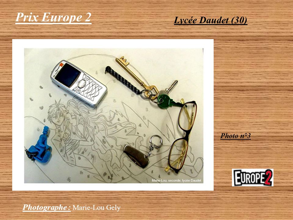 Prix Europe 2 Lycée Daudet (30) Photo n°3 Photographe : Marie-Lou Gely