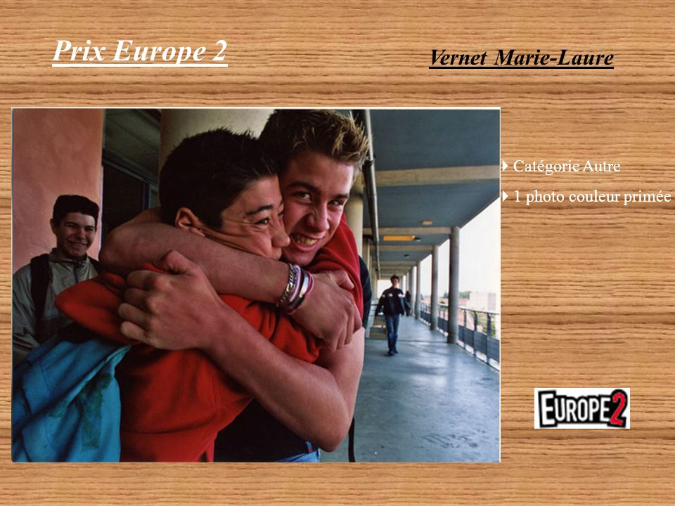 Prix Europe 2 Vernet Marie-Laure Catégorie Autre