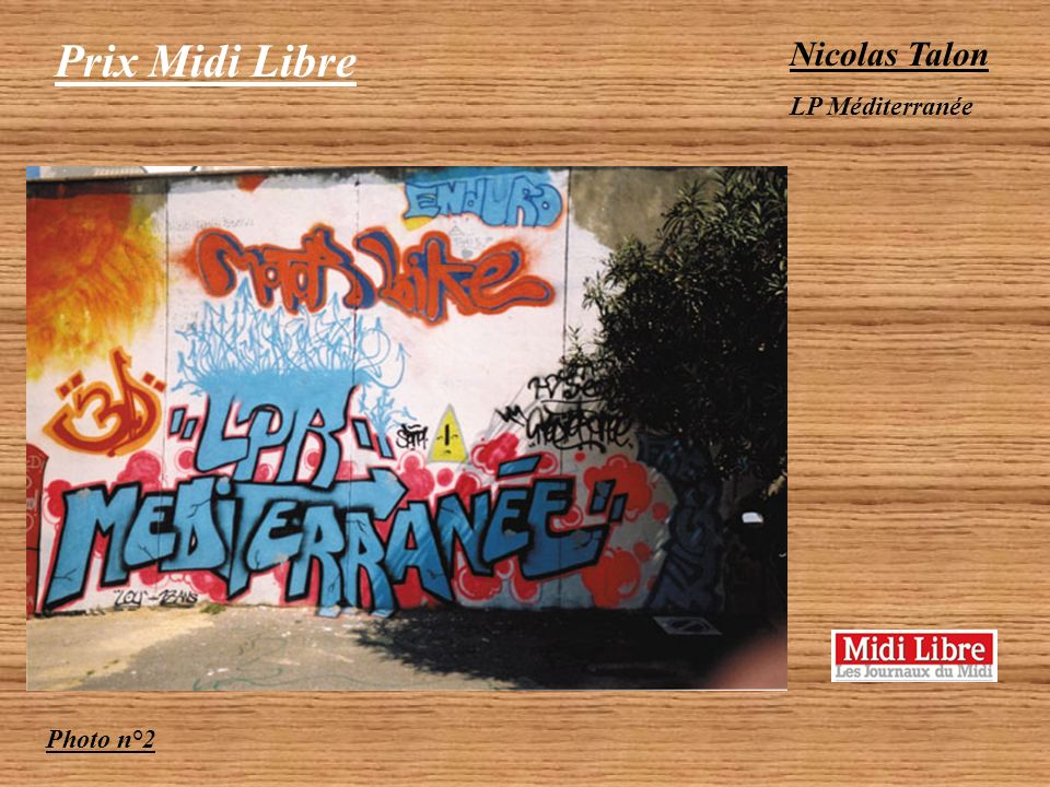 Prix Midi Libre Nicolas Talon LP Méditerranée Photo n°2