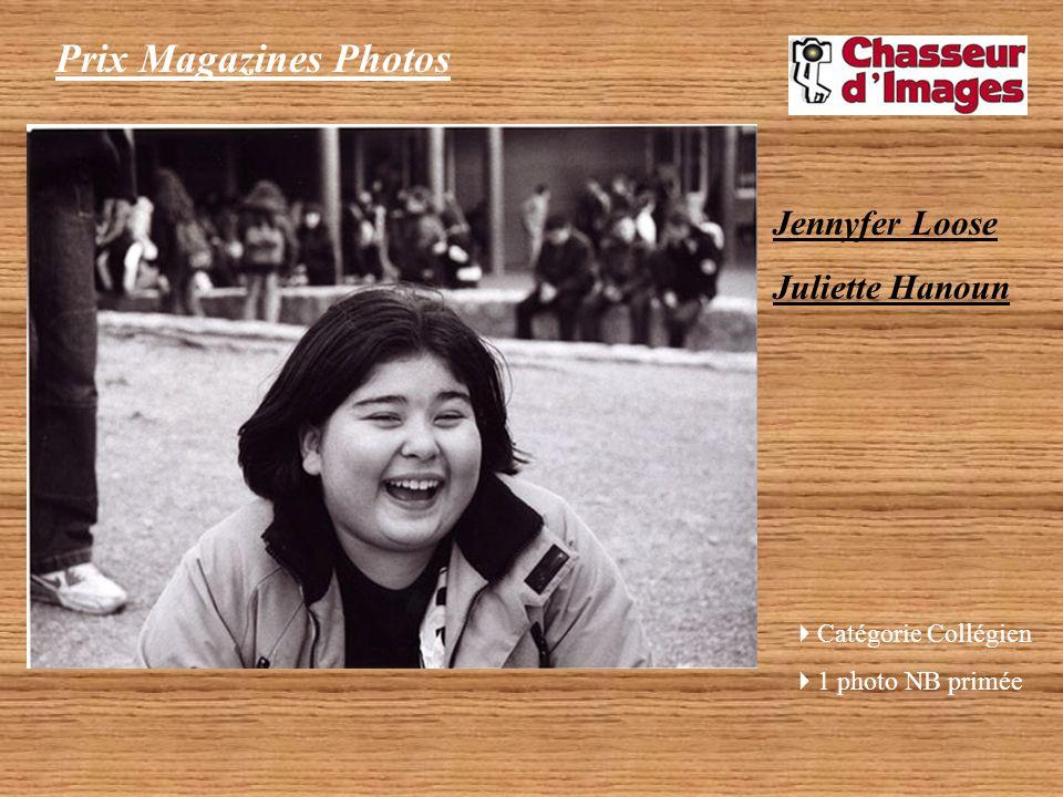 Prix Magazines Photos Jennyfer Loose Juliette Hanoun