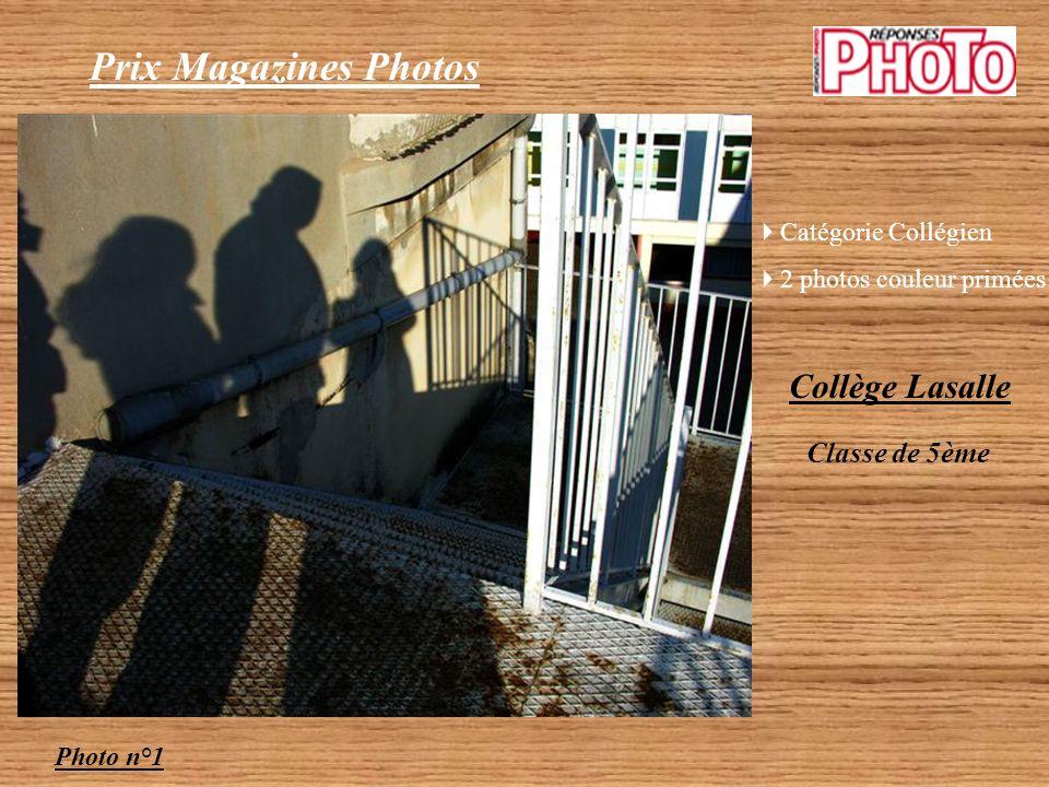 Prix Magazines Photos Collège Lasalle Classe de 5ème