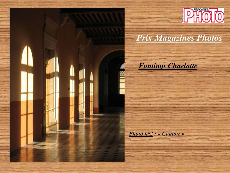 Prix Magazines Photos Fontimp Charlotte Photo n°2 : « Couloir »