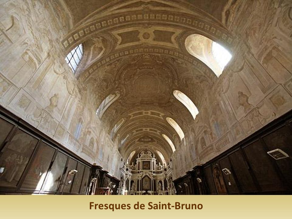 Fresques de Saint-Bruno