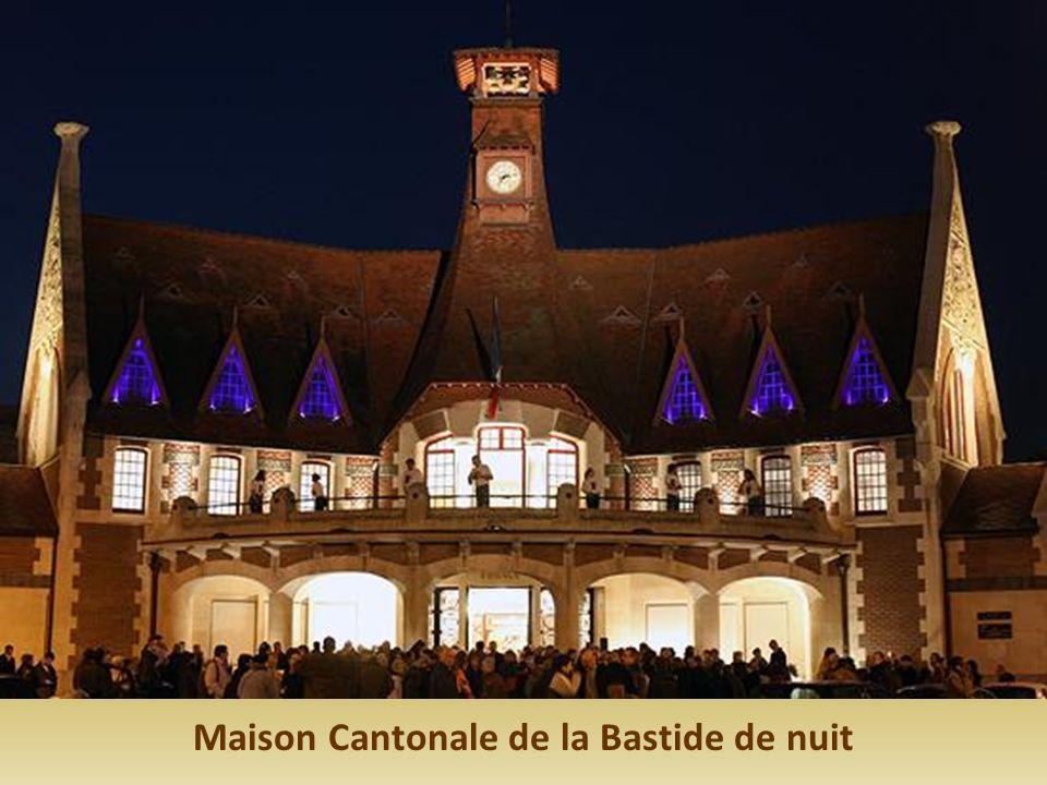Maison Cantonale de la Bastide de nuit