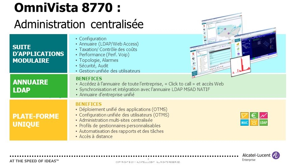 OmniVista 8770 : Administration centralisée ANNUAIRE LDAP