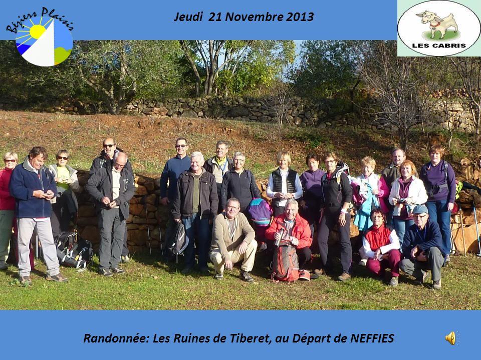 Randonnée: Les Ruines de Tiberet, au Départ de NEFFIES