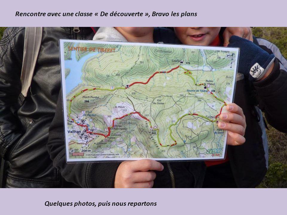 Rencontre avec une classe « De découverte », Bravo les plans