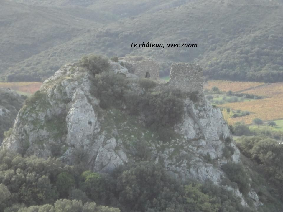 Le château, avec zoom