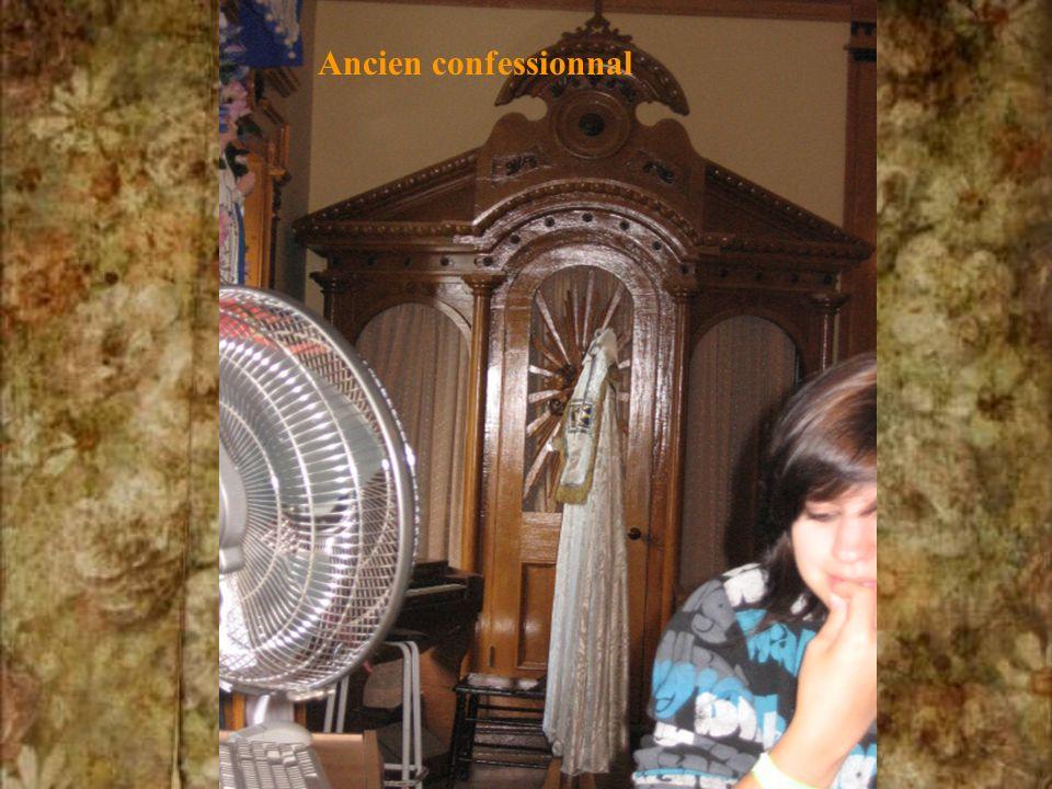 Ancien confessionnal