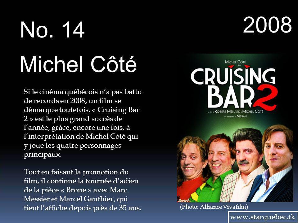 2008 No. 14. Michel Côté.