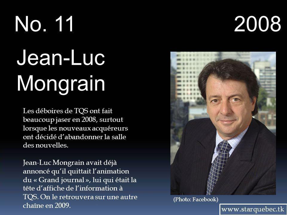 No. 11 2008. Jean-Luc Mongrain.