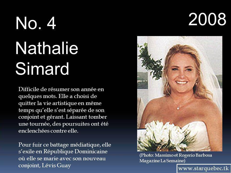 2008 No. 4. Nathalie. Simard.