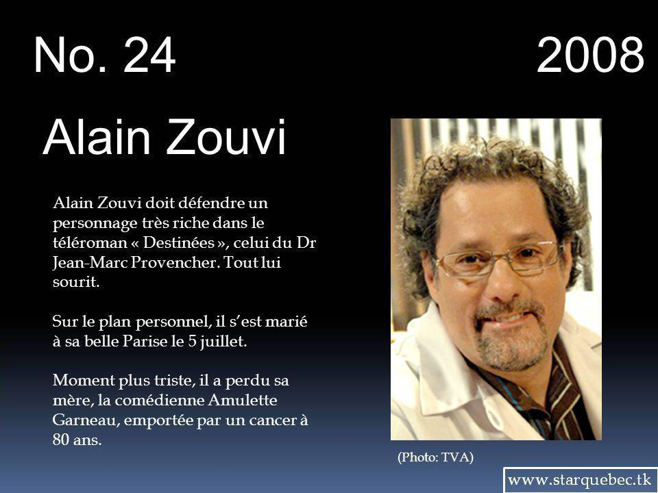 No. 24 2008. Alain Zouvi.