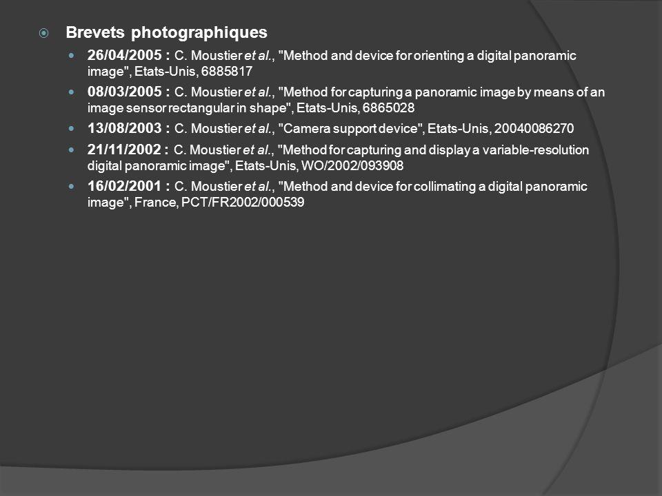Brevets photographiques