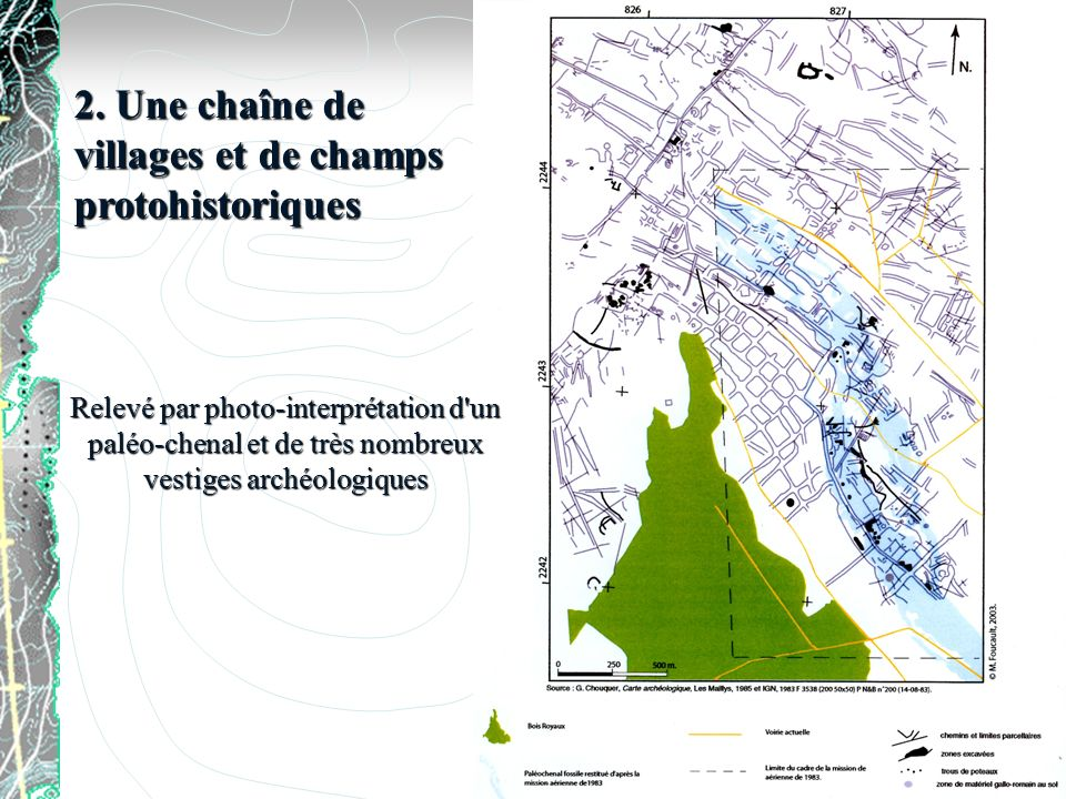 2. Une chaîne de villages et de champs protohistoriques