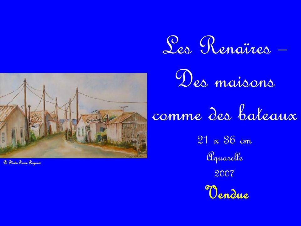 Les Renaïres – Des maisons comme des bateaux