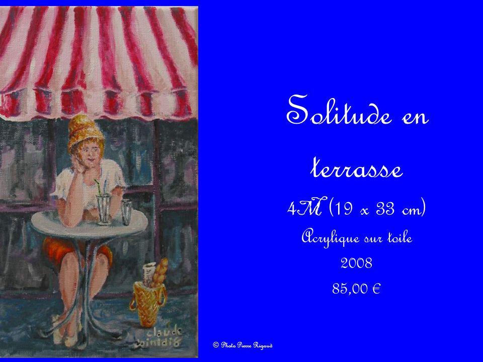 4M (19 x 33 cm) Acrylique sur toile 2008 85,00 €