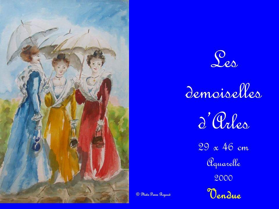 Les demoiselles d'Arles