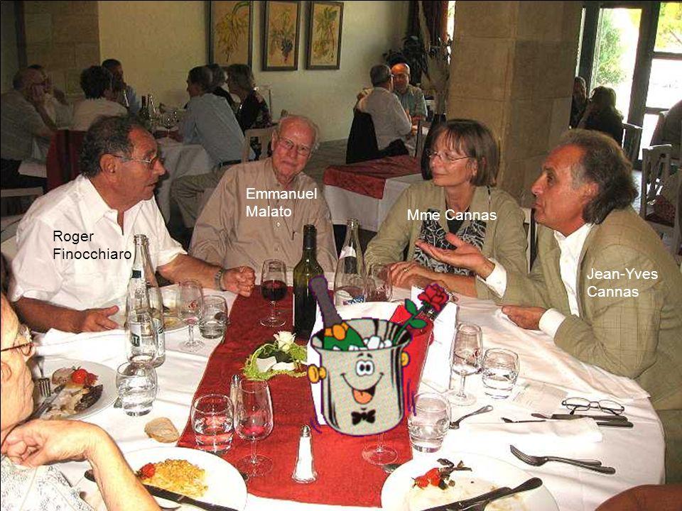 Emmanuel Malato Mme Cannas Roger Finocchiaro Jean-Yves Cannas