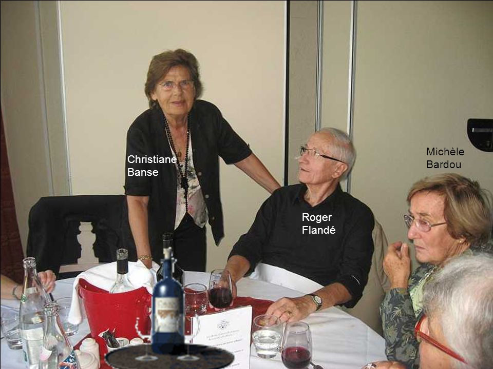 Michèle Bardou Christiane Banse Roger Flandé