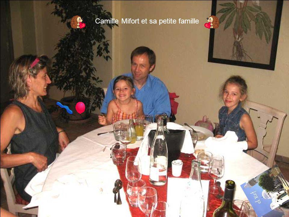 Camille Mifort et sa petite famille