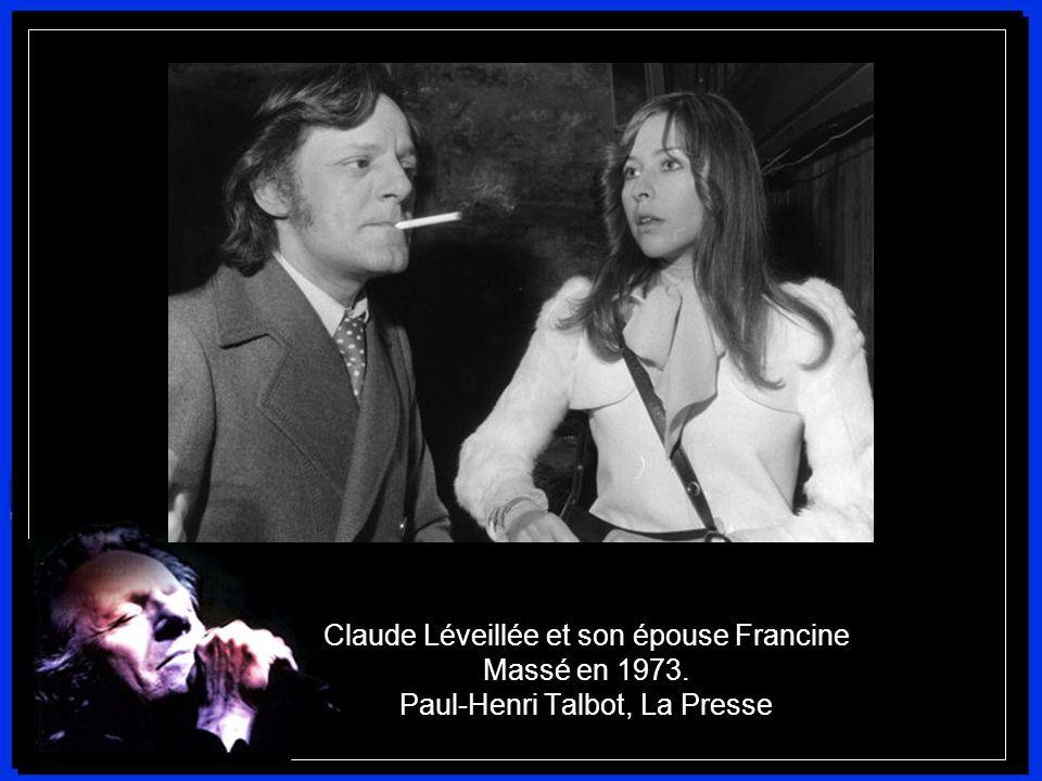 Claude Léveillée et son épouse Francine Massé en 1973