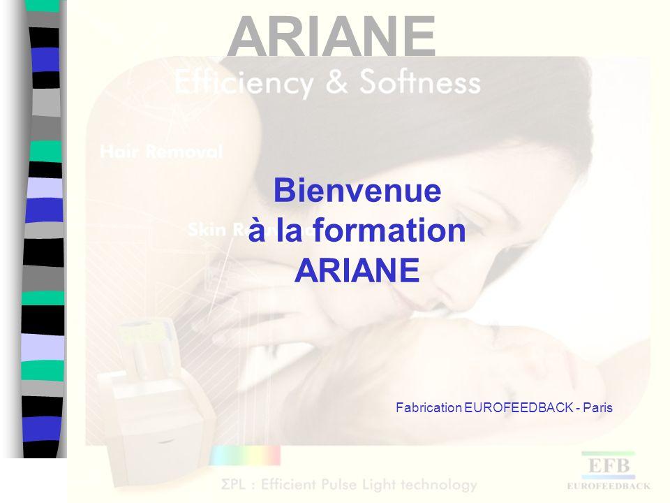 Bienvenue à la formation ARIANE