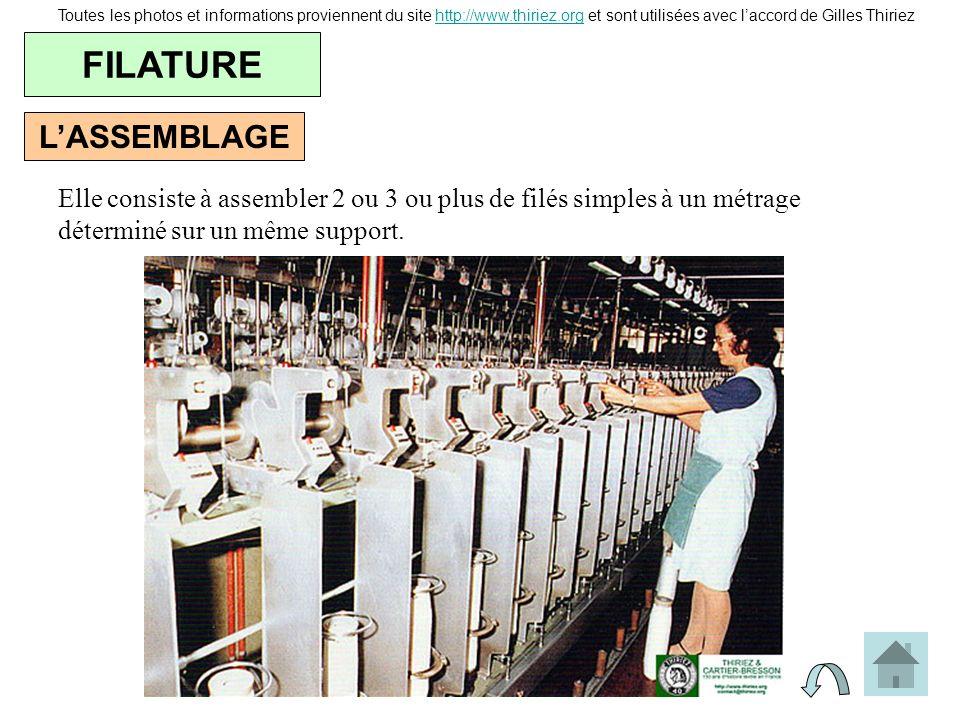 FILATURE L'ASSEMBLAGE