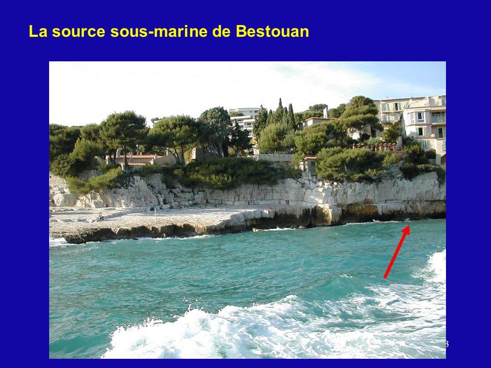 La source sous-marine de Bestouan
