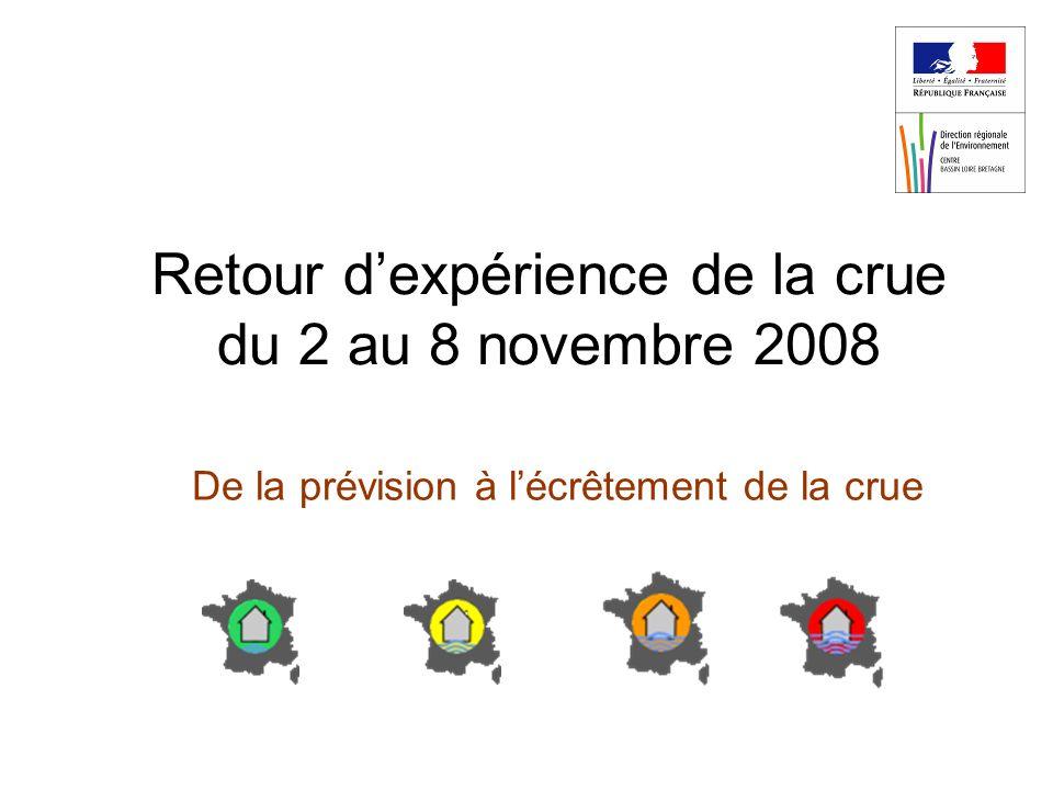 Retour d'expérience de la crue du 2 au 8 novembre 2008