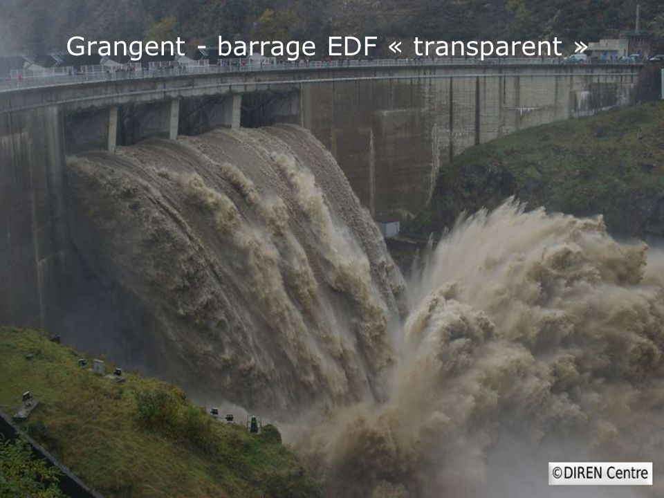 Grangent - barrage EDF « transparent »